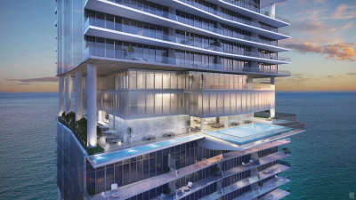 turnberry_amenities level_front pool_east view night