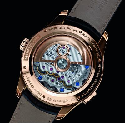 Montblanc Heritage Chronométrie ExoTourbillon - Back 112542