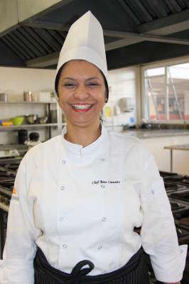 Chef Bete Carneiro Coordenadora do curso de Gastronomia Anhanguera São Caetano
