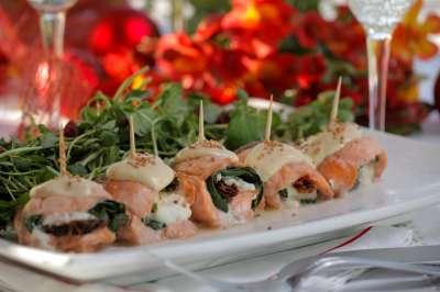 09 Rollitos de Salmon con Espinaca C