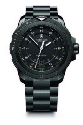 Alpnach Mechanical, com bracelete de aço revestido com PVD preto, com mostrador preto (241684) – R$ 5.904,00