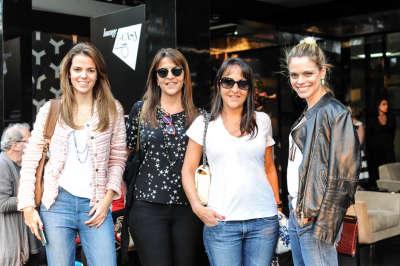Ana Luiza Judice, Fernanda Boghosian, Renata Boghosian e Daniela Neves