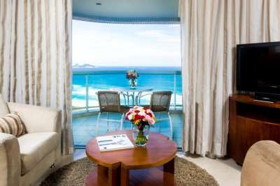 Apartamentos com vista para o mar
