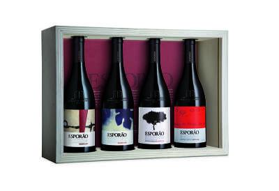 Kit vinhos tintos Esporão Reserva (safras 2009,2010,2011, 2012) R$ 1.035,00