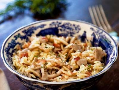 Salada de Risoni ao Shimeji e Presunto Cru_bx