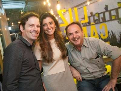 Luis Guilherme Zenga, Sheila Grecco e Rorigo Gouvêa