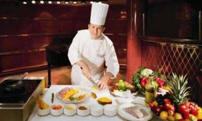 Chef cozinhando