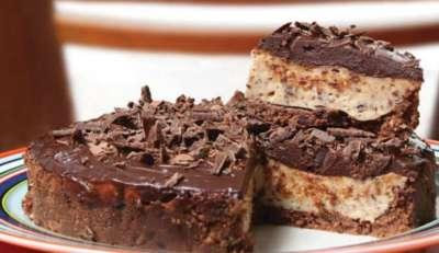 Torta gelada de maracuja_
